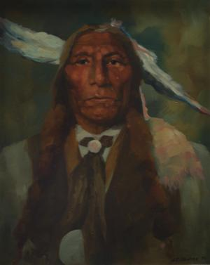 "Primary view of object titled '""Cheyenne Wolf Rola""'."