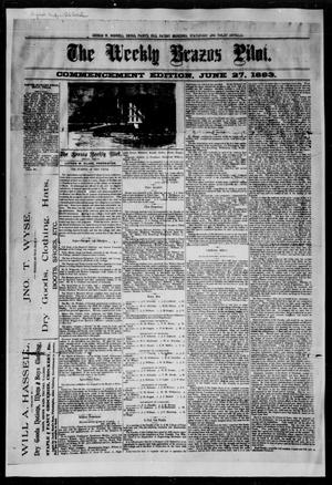 The Weekly Brazos Pilot. (Bryan, Tex.), Ed. 1 Wednesday, June 27, 1883