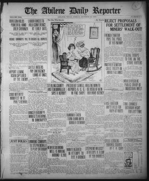 Primary view of object titled 'The Abilene Daily Reporter (Abilene, Tex.), Vol. 22, No. 273, Ed. 1 Friday, October 24, 1919'.
