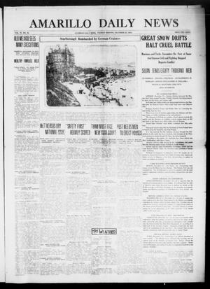 Primary view of object titled 'Amarillo Daily News (Amarillo, Tex.), Vol. 6, No. 42, Ed. 1 Tuesday, December 22, 1914'.