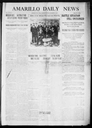 Primary view of object titled 'Amarillo Daily News (Amarillo, Tex.), Vol. 6, No. 50, Ed. 1 Thursday, December 31, 1914'.