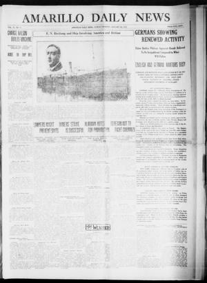 Primary view of object titled 'Amarillo Daily News (Amarillo, Tex.), Vol. 6, No. 71, Ed. 1 Sunday, January 24, 1915'.