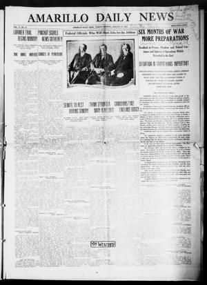 Primary view of object titled 'Amarillo Daily News (Amarillo, Tex.), Vol. 6, No. 77, Ed. 1 Sunday, January 31, 1915'.
