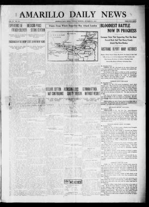 Primary view of object titled 'Amarillo Daily News (Amarillo, Tex.), Vol. 4, No. 310, Ed. 1 Tuesday, October 27, 1914'.