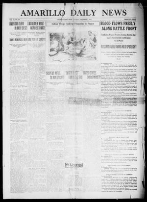 Primary view of Amarillo Daily News (Amarillo, Tex.), Vol. 6, No. 24, Ed. 1 Tuesday, December 1, 1914