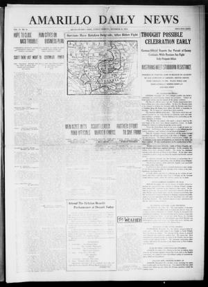Primary view of object titled 'Amarillo Daily News (Amarillo, Tex.), Vol. 6, No. 41, Ed. 1 Sunday, December 20, 1914'.