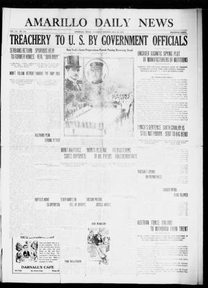 Primary view of object titled 'Amarillo Daily News (Amarillo, Tex.), Vol. 7, No. 170, Ed. 1 Saturday, May 20, 1916'.