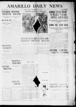 Primary view of object titled 'Amarillo Daily News (Amarillo, Tex.), Vol. 7, No. 231, Ed. 1 Sunday, July 30, 1916'.