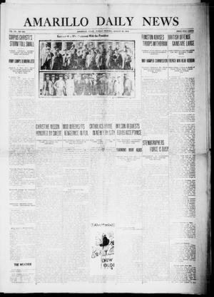 Primary view of object titled 'Amarillo Daily News (Amarillo, Tex.), Vol. 7, No. 249, Ed. 1 Sunday, August 20, 1916'.
