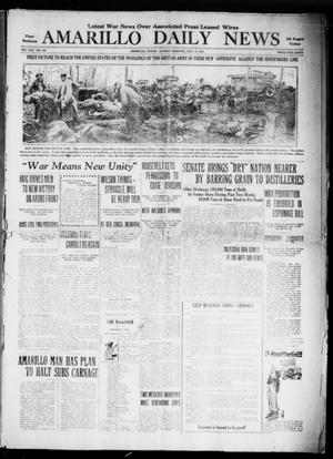 Primary view of object titled 'Amarillo Daily News (Amarillo, Tex.), Vol. 8, No. 164, Ed. 1 Sunday, May 13, 1917'.