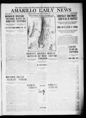 Primary view of object titled 'Amarillo Daily News (Amarillo, Tex.), Vol. 8, No. 265, Ed. 1 Saturday, September 8, 1917'.