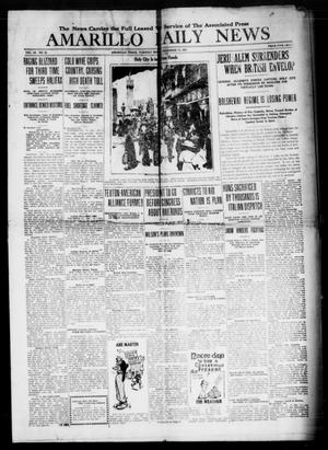 Primary view of object titled 'Amarillo Daily News (Amarillo, Tex.), Vol. 9, No. 33, Ed. 1 Tuesday, December 11, 1917'.