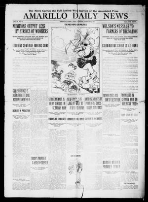 Primary view of object titled 'Amarillo Daily News (Amarillo, Tex.), Vol. 9, No. 78, Ed. 1 Friday, February 1, 1918'.