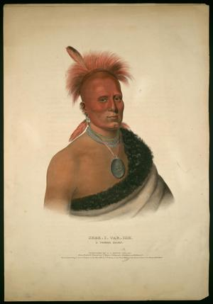 "Primary view of object titled '""Shar-I-Tar-Ish, A Pawnee Chief""'."