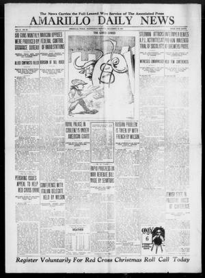 Primary view of object titled 'Amarillo Daily News (Amarillo, Tex.), Vol. 10, No. 39, Ed. 1 Wednesday, December 18, 1918'.