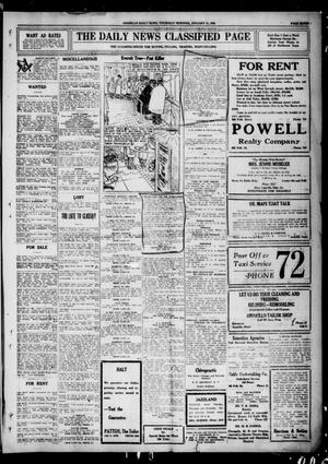 Primary view of object titled 'Amarillo Daily News (Amarillo, Tex.), Ed. 1 Thursday, January 15, 1920'.