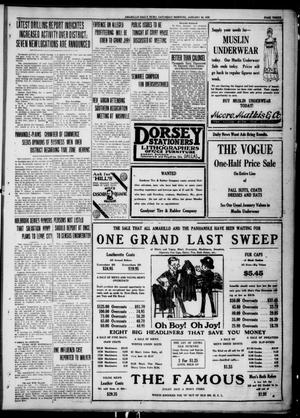 Primary view of object titled 'Amarillo Daily News (Amarillo, Tex.), Ed. 1 Saturday, January 24, 1920'.