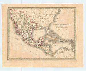 "Primary view of object titled '""Mexico, Guatemala, and the West Indies""'."