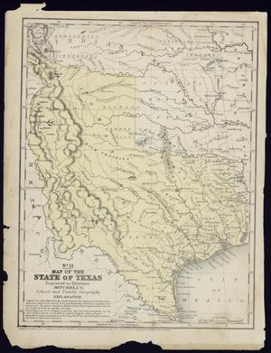 "Primary view of object titled '""No. 13 Map of the State of Texas""'."