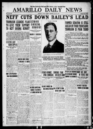 Primary view of Amarillo Daily News (Amarillo, Tex.), Vol. 11, No. 229, Ed. 1 Sunday, July 25, 1920