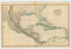 "Primary view of object titled '""Mexico and West Indies""'."