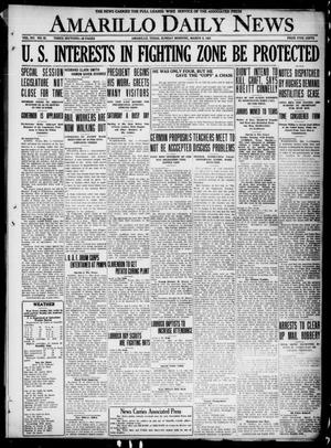 Primary view of object titled 'Amarillo Daily News (Amarillo, Tex.), Vol. 12, No. 52, Ed. 1 Sunday, March 6, 1921'.