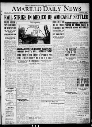 Primary view of object titled 'Amarillo Daily News (Amarillo, Tex.), Vol. 12, No. 60, Ed. 1 Wednesday, March 16, 1921'.