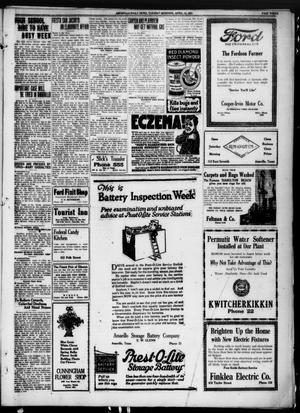 Primary view of object titled 'Amarillo Daily News (Amarillo, Tex.), Ed. 1 Tuesday, April 12, 1921'.