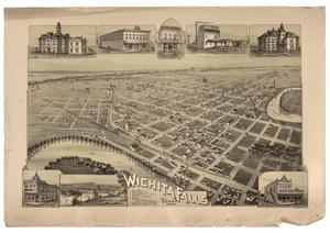 Primary view of object titled 'Wichita Falls, Texas, 1890'.