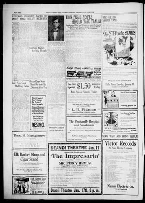 Primary view of object titled 'Amarillo Daily News (Amarillo, Tex.), Ed. 1 Saturday, January 14, 1922'.