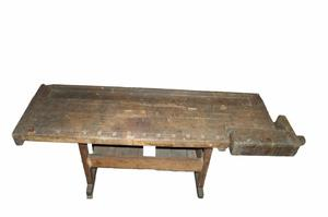 Primary view of object titled 'Carpenter's bench'.