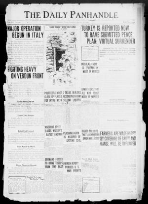 Primary view of object titled 'The Daily Panhandle (Amarillo, Tex.), Vol. 12, No. 40, Ed. 1 Saturday, October 26, 1918'.