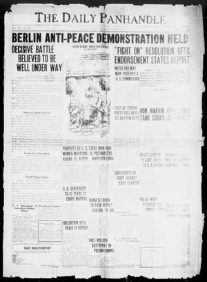 The Daily Panhandle (Amarillo, Tex.), Vol. 12, No. 48, Ed. 1 Tuesday, November 5, 1918