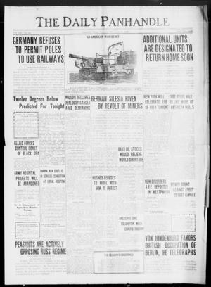 Primary view of object titled 'The Daily Panhandle (Amarillo, Tex.), Vol. 12, No. 95, Ed. 1 Tuesday, December 31, 1918'.