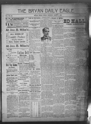Primary view of The Bryan Daily Eagle. (Bryan, Tex.), Vol. 1, No. 118, Ed. 1 Friday, April 17, 1896