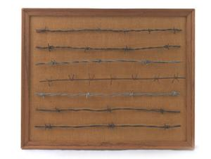 Primary view of object titled '[Framed Barbed Wire #5]'.