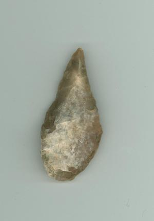 Primary view of object titled 'Projectile'.