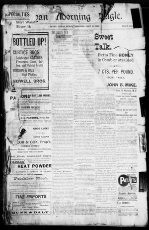 Bryan Morning Eagle. (Bryan, Tex.), Ed. 1 Sunday, July 10, 1898
