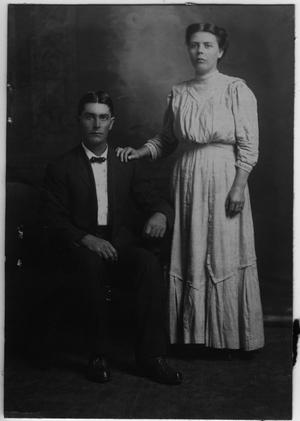 Primary view of object titled '[Sallie and Joe Griffin Wedding Photograph]'.