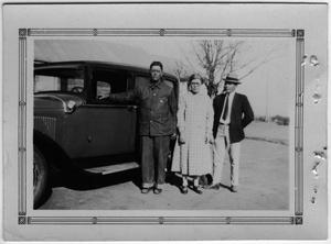 [Sallie and Joe Griffin with Walter Falls]