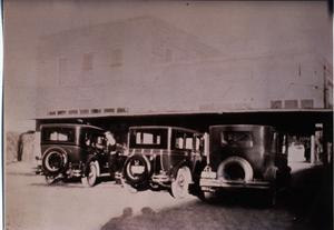 Primary view of object titled 'Automobiles, c. 1930'.
