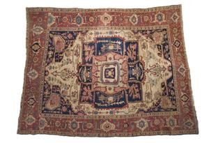 Primary view of object titled 'Persian rug'.