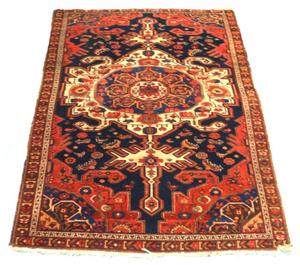 Primary view of object titled 'Throw rug'.