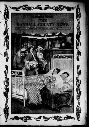 Primary view of object titled 'The Randall County News. (Canyon City, Tex.), Vol. 13, No. 38, Ed. 1 Friday, December 17, 1909'.