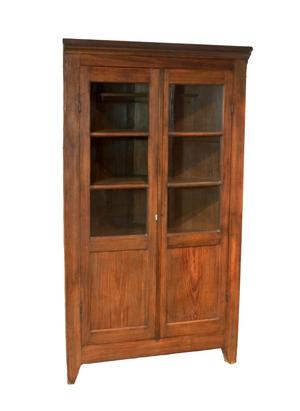 Primary view of object titled 'Corner cupboard'.