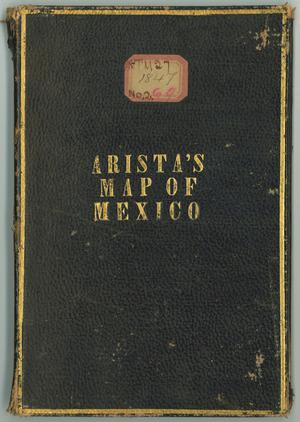 "Primary view of object titled '""A correct map of the seat of war in Mexico""'."
