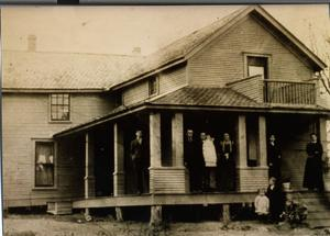Primary view of object titled 'William Smith Home in Union Bower'.