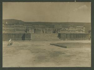 Primary view of object titled 'Unidentified ruins in Mexico'.