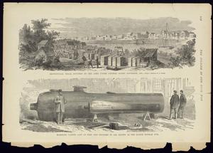 "Primary view of object titled '""Brownsville, Texas, Occupied by the Army under General Banks, November 1863"", in Frank Leslie's, ""The Soldier In Our Civil War"" (1893)'."