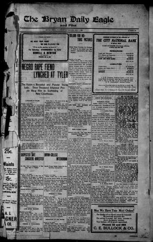 Primary view of object titled 'The Bryan Daily Eagle and Pilot (Bryan, Tex.), No. 124, Ed. 1 Saturday, May 1, 1909'.